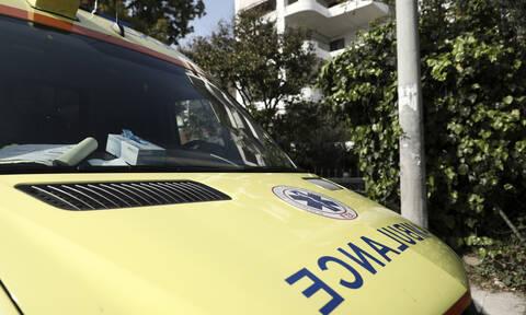 Ηράκλειο: Σε σοβαρή κατάσταση πεζός άνδρας που παρασύρθηκε από μηχανή