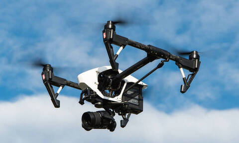 Drone της ΕΛ.ΑΣ. έπεσε στα Εξάρχεια