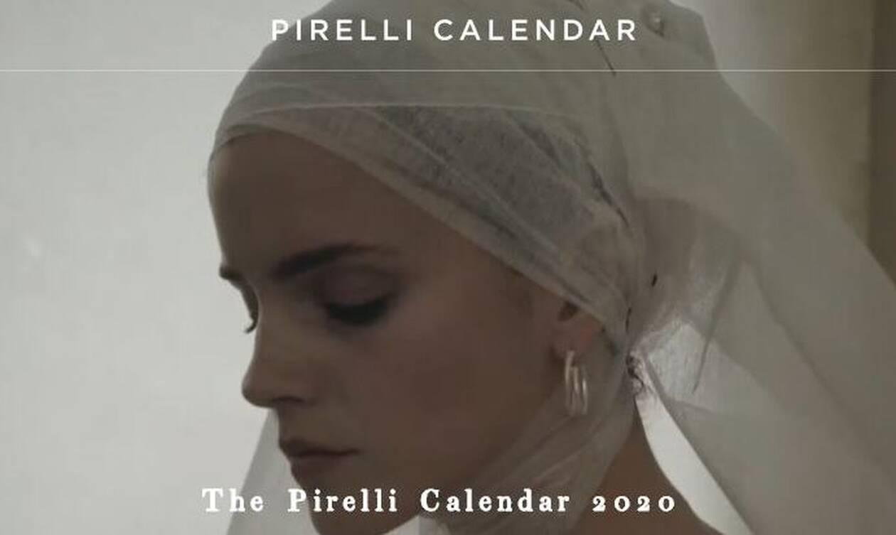 Εντυπωσιακό: Το νέο ημερολόγιο της Pirelli για το 2020 – Διάσημες σε φωτογράφιση έκπληξη (pics)