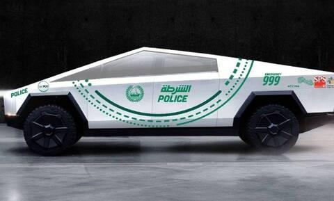 Η αστυνομία του Ντουμπάι θα έχει Tesla Cybertruck