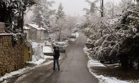 Κλειστά σχολεία λόγω του χιονιά - Πού υπάρχουν προβλήματα (pics)