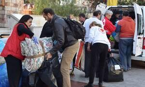 ΕΕΣ: Ξεπέρασε τους 200 τόνους η υλική βοήθεια για τους πληγέντες του σεισμού στην Αλβανία