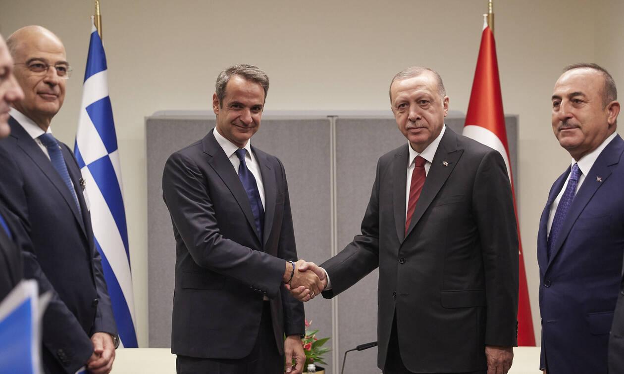 Κρίσιμη συνάντηση Μητσοτάκη-Ερντογάν στο Λονδίνο - Στην κόψη του ξυραφιού οι ελληνοτουρκικές σχέσεις