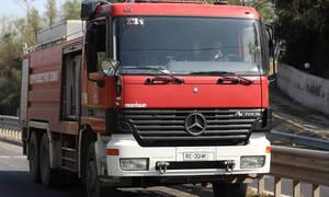 Φωτιά ΤΩΡΑ στη Θεσσαλονίκη - Συναγερμός στην Πυροσβεστική