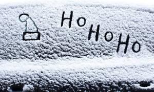 Θα πάθετε πλάκα: Αυτό είναι το πιο χριστουγεννιάτικο αυτοκίνητο – Βρίσκεται στην Κατερίνη (pics)