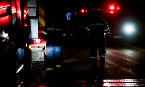 Τραγωδία στη Μυτιλήνη: Νεκρή γυναίκα από φωτιά στο hotspot του Καρά Τεπέ