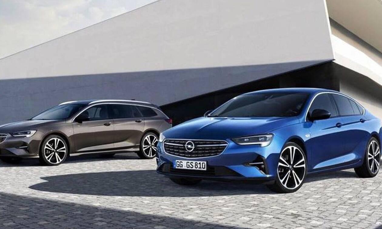 Opel Insignia: Ανανεωμένο και με 3κύλινδρο κινητήρα 1.400 κυβικών