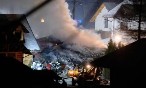 Πολωνία: Τέσσερις νεκροί μετά την κατάρρευση σπιτιού λόγω έκρηξης από διαρροή αερίου
