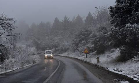 Καιρός - Χιόνια: Σε ποιους δρόμους χρειάζονται αντιολισθητικές αλυσίδες