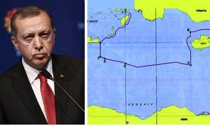 Υπέρτατη πρόκληση από Τουρκία: Τα νησιά δεν είναι ικανά να διακόψουν την υφαλοκρηπίδα μας