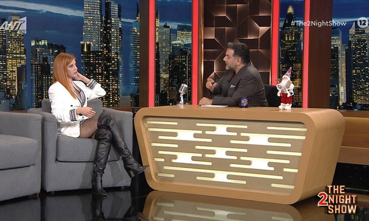 The 2night show: Τζένη Θεωνά: Τα κιλά της εγκυμοσύνης και η αποκάλυψη του ονόματος του γιου της!