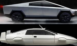 Από ποιο αυτοκίνητο εμπνεύσθηκαν το Tesla Cybertruck;