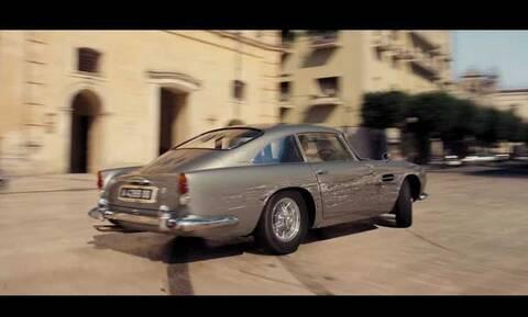 Δείτε το επίσημο τρέιλερ του νέου James Bond με τις Aston Martin σε πρώτο πλάνο