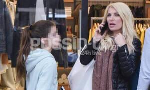 Ελένη Μενεγάκη: Για ψώνια με την κόρη της,  Λάουρα! Δεν φαντάζεσαι πόσο έχει μεγαλώσει (Photos)