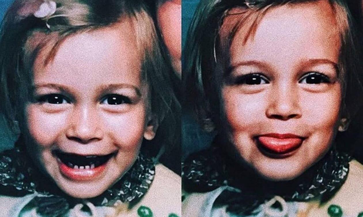 Το κοριτσάκι της φωτογραφίας είναι μία ξανθιά καλλονή και σύζυγος πασίγνωστου τραγουδιστή