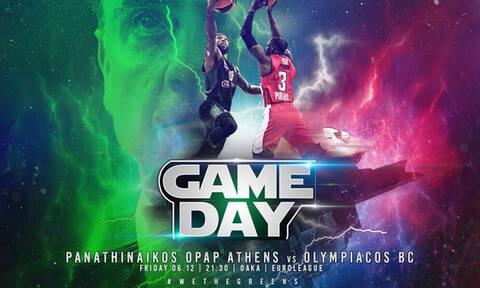 Παναθηναϊκός ΟΠΑΠ – Ολυμπιακός LIVE: Το «ντέρμπι» του ΟΑΚΑ για την Euroleague