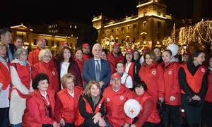 Ελληνικός Ερυθρός Σταυρός: Παρουσίαση Πρώτων Βοηθειών στην πλατεία Κοτζιά