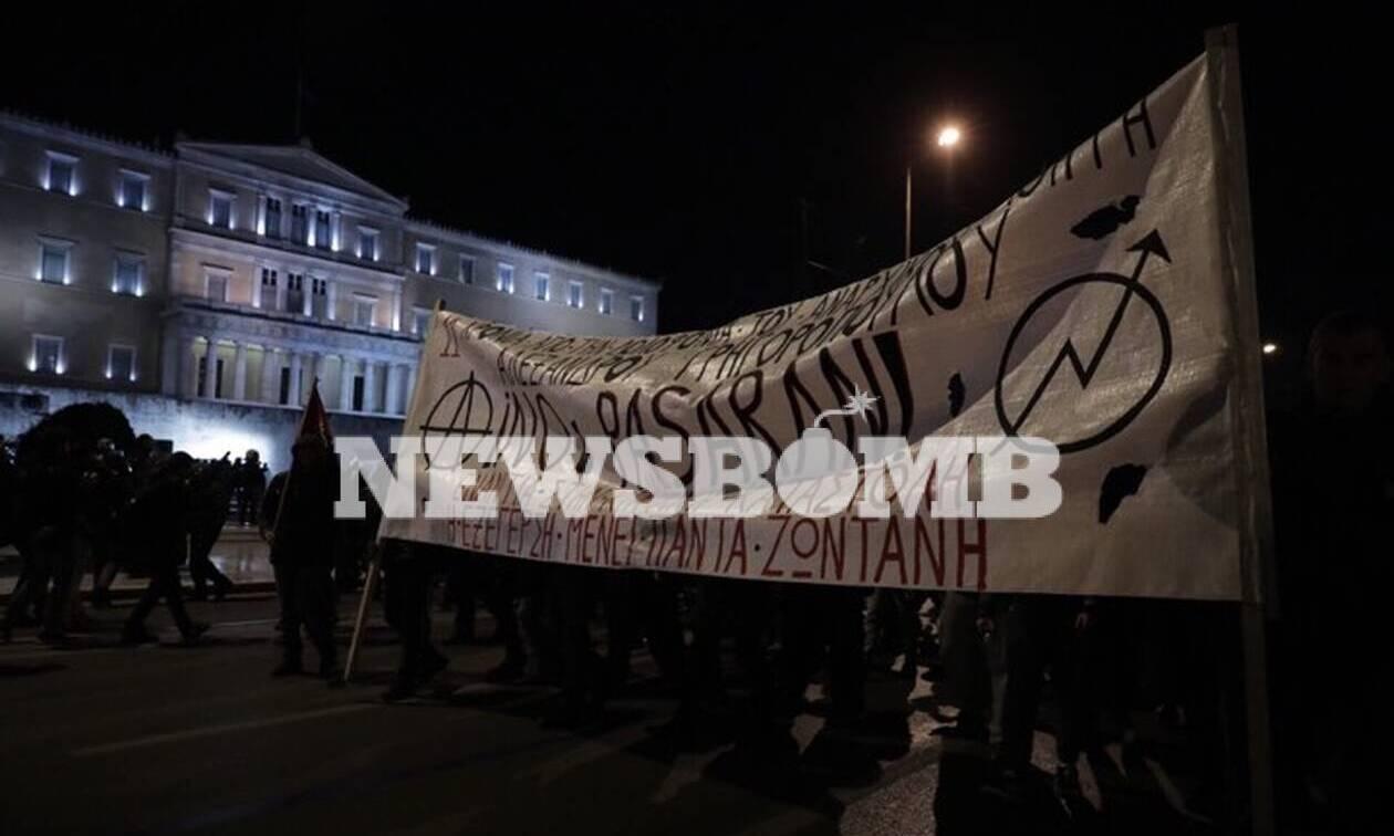 Επέτειος Γρηγορόπουλου: Χιλιάδες κόσμου διαδήλωσαν για τον Αλέξη - Ειρηνική η πορεία στην Αθήνα