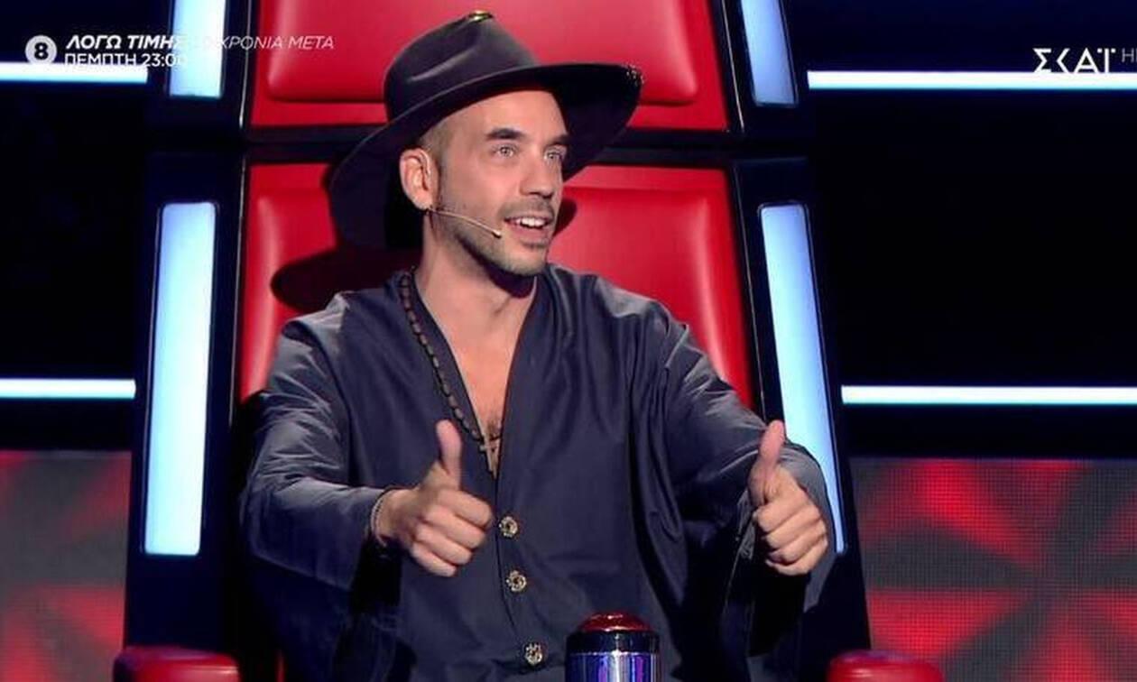 The Voice: Το... τερμάτισε ο Πάνος Μουζουράκης! Δείτε πώς εμφανίστηκε στο live! (Photos-Video)