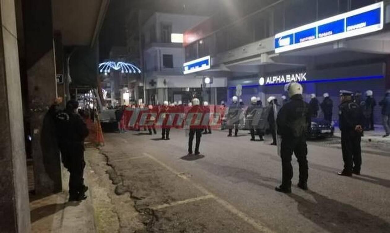 Νέα πορεία αντιεξουσιαστών στην Πάτρα