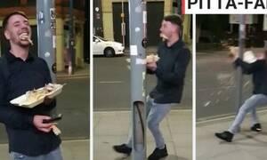 Βίντεο: Μεθυσμένος στουκάρει σε κολώνα και πονάει η ψυχή μας!