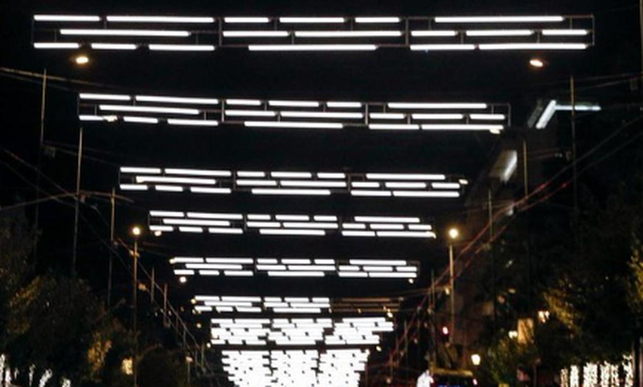 Τι απαντά το Ίδρυμα Ωνάση για τα φωτάκια στη Β. Σοφίας που προκάλεσαν σάλο