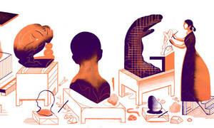 Camille Claudel: H Google τιμά με doodle την Γαλλίδα γλύπτρια