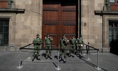 Μεξικό: Τέσσερις νεκροί σε ανταλλαγή πυρών κοντά στην έδρα της προεδρίας