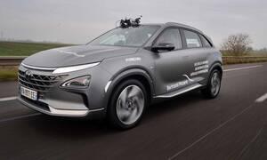 Πόσα χιλιόμετρα λέτε ότι διένυσε το Hyundai Nexo με τις ενεργειακές κυψέλες;