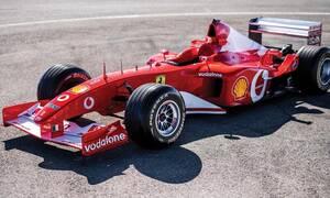 Πόσο πoυλήθηκε η Ferrari F2002 του Michael Schumacher;