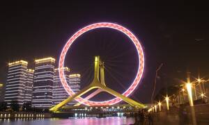 Tianjin Eye: Ο γιγάντιος τροχός της Κίνας