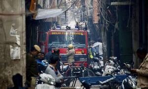 Τραγωδία στην Ινδία: Πυρκαγιά σε εργοστάσιο - Δεκάδες νεκροί