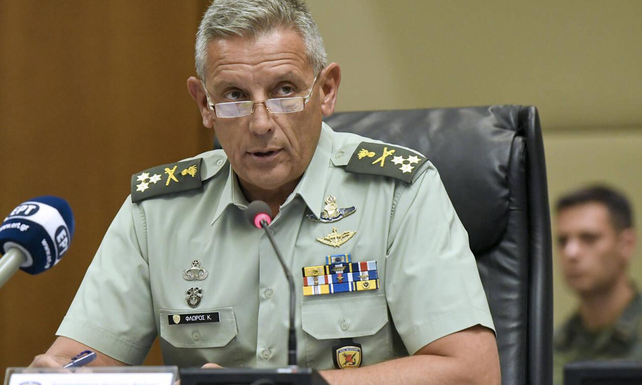 Διοικητής 1ης Στρατιάς Κ.Φλώρος: Τα σκυλιά αλυχτάνε αλλά θα τους τσακίσουμε στο κεφάλι
