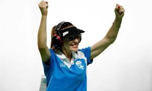 Χρυσή με παγκόσμιο ρεκόρ στο Βελιγράδι η Κορακάκη
