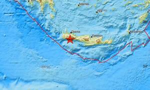 Σεισμός: 11 σεισμικές δονήσεις ταρακούνησαν το βράδυ την Κρήτη