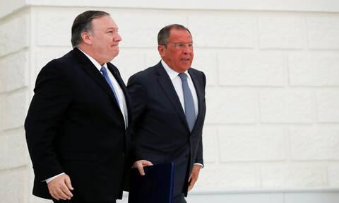 Госдеп подтвердил сообщения о встрече Помпео и Лаврова в США