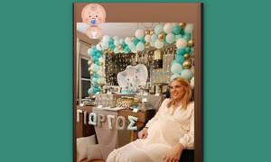 Μαντώ Γαστεράτου: Το φωτογραφικό άλμπουμ από το baby shower!