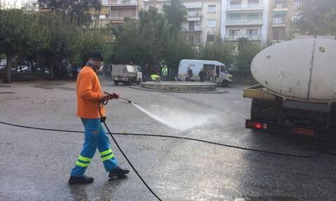 Δήμος Αθηναίων: Δράσεις καθαριότητας και αποκατάστασης στην Κυψέλη (pics)