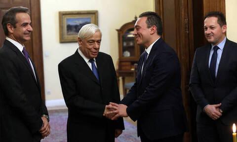 Ορκίστηκε υφυπουργός Εξωτερικών ο Κώστας Βλάσσης