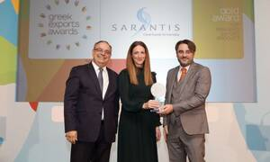 Το Carroten αναδείχθηκε Gold Top Branded Export Product  στα Greek Exports Awards 2019