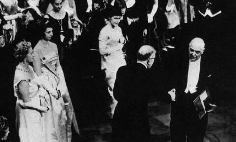 Σαν σήμερα το 1963 ο Γιώργος Σεφέρης βραβεύεται με το Νόμπελ Λογοτεχνίας