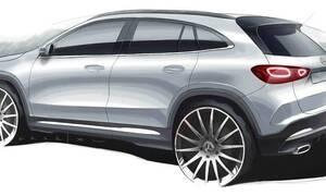 Eπίσημη εικόνα-teaser για τη νέα Mercedes-Benz GLA