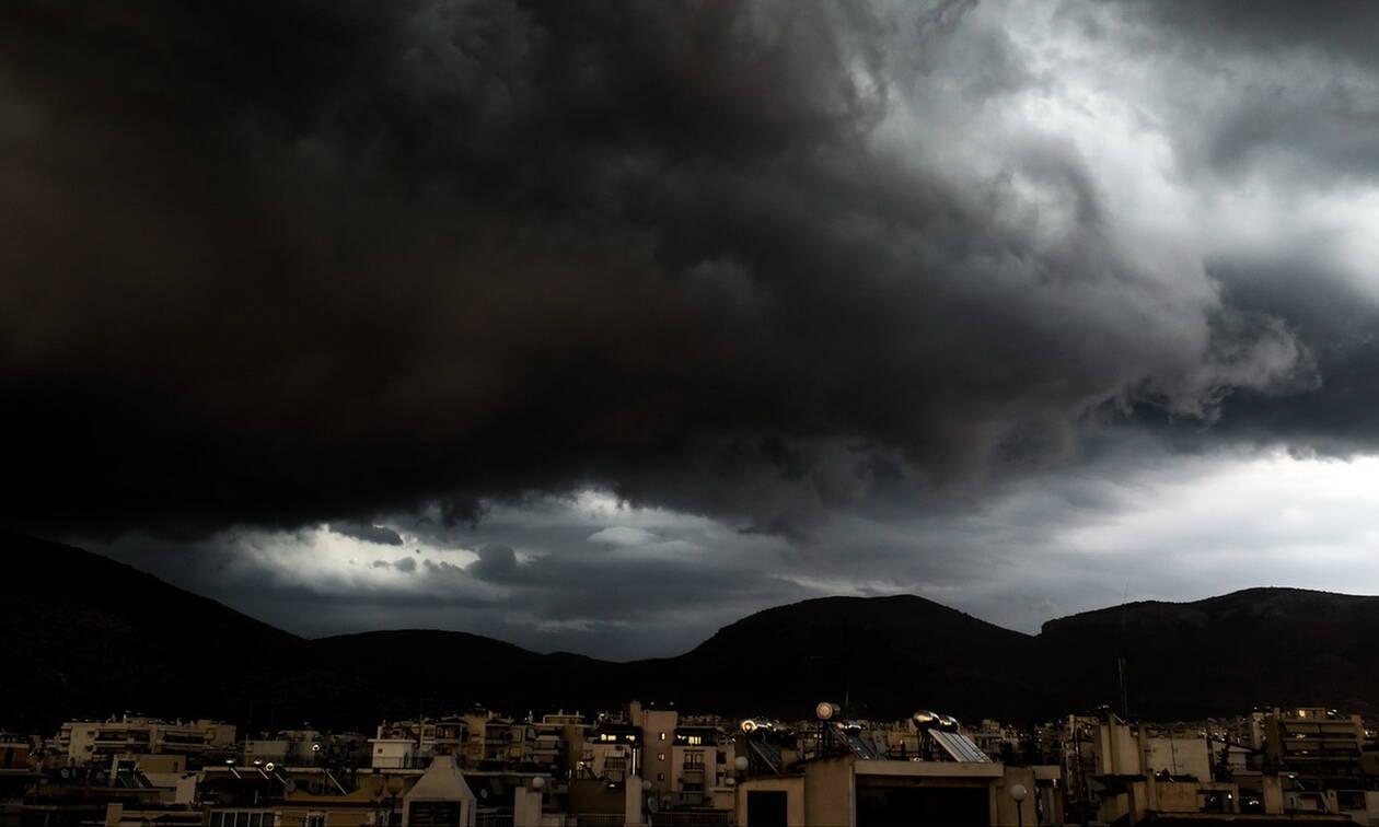 Καιρός - Έκτακτο δελτίο ΕΜΥ: Αυτές τις περιοχές θα «σαρώσει» η κακοκαιρία «Διδώ» την Τρίτη