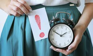 Καθυστέρηση περιόδου: 7 αιτίες πλην της εγκυμοσύνης (εικόνες)