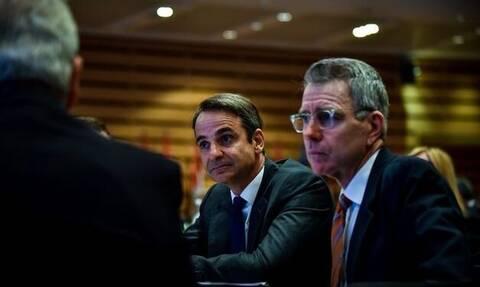 Сегодня в Афинах состоится встреча Кириакоса Мицотакиса и посла США в Греции Джеффри Пайетта