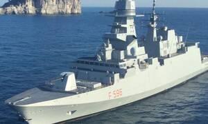 Η Ιταλία έστειλε φρεγάτα στην Κύπρο: «Είμαστε έτοιμοι να δείξουμε τη σημαία μας στην Τουρκία»