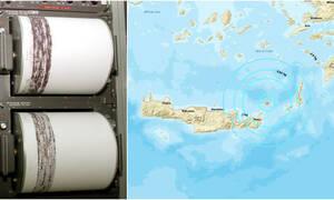 Σεισμός μεταξύ Κρήτης και Κάσου: Έτσι κατέγραψαν τα Ρίχτερ οι σεισμογράφοι (pics)