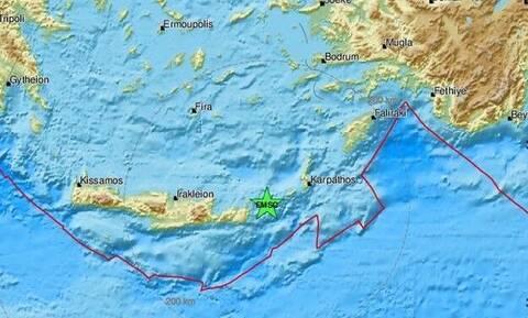 В Греции ночью произошли два землетрясения
