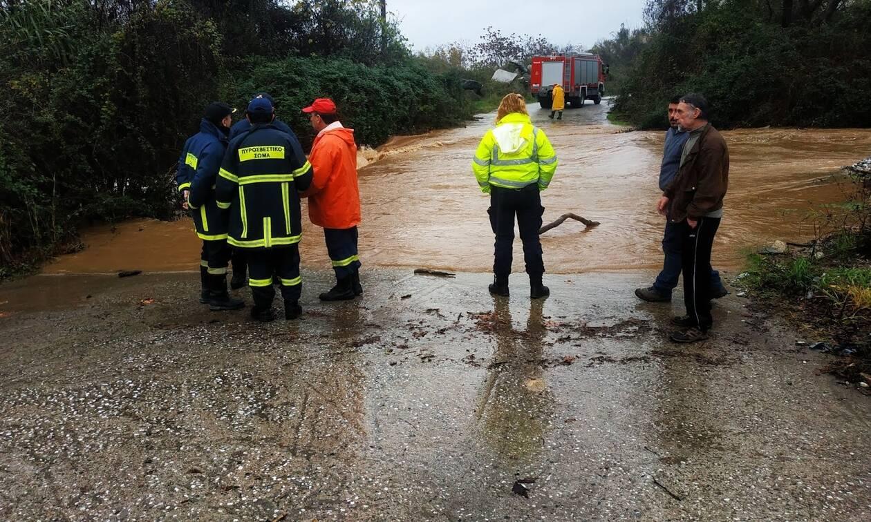 Κακοκαιρία - Ημαθία: Βρέθηκε ο αγνοούμενος οδηγός αυτοκινήτου που παρασύρθηκε από ορμητικά νερά