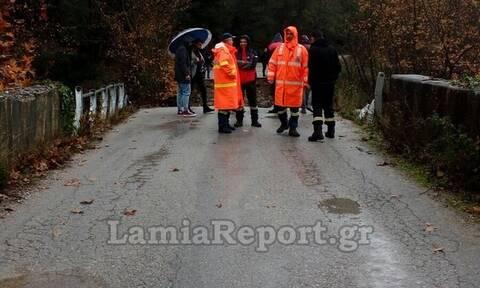 Κακοκαιρία «Διδώ»: Εικόνες καταστροφής στην Εύβοια - Έπεσε γέφυρα και αποκλείστηκαν χωριά